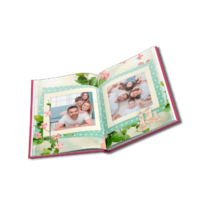 Hardcover photo book with a 180-degree spread 15x20