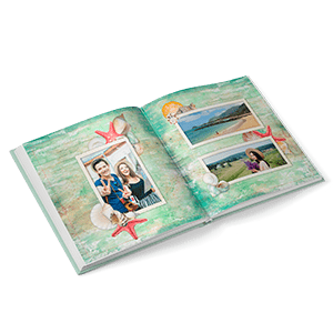 180-degree hardcover photo book 30x30