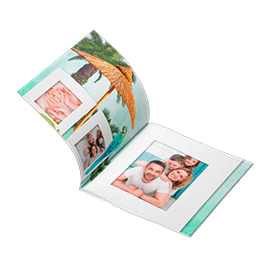 180-degree soft cover photo book 20x20